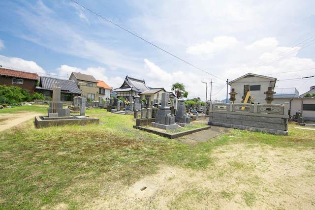 長栄寺墓地6