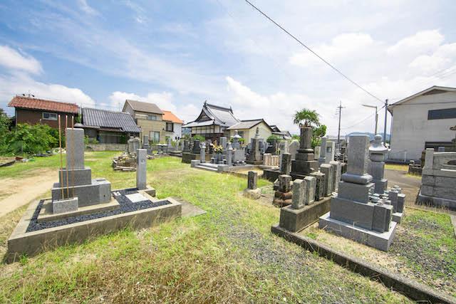 長栄寺墓地5