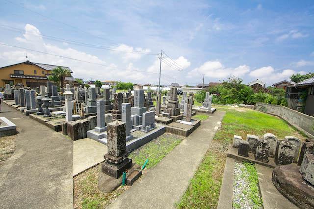 長栄寺墓地1