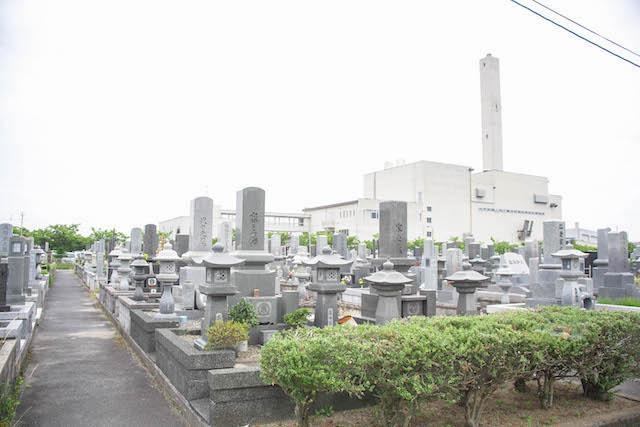 境港市営中央墓地04