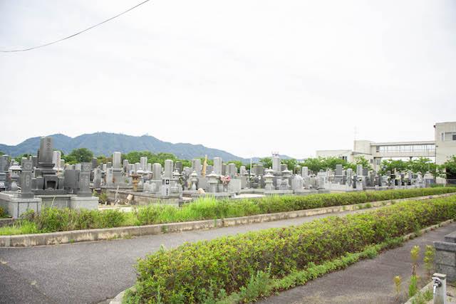 境港市営中央墓地02