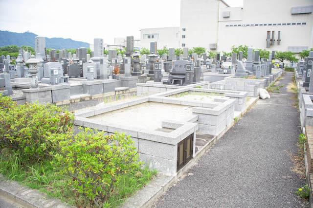 境港市営中央墓地01