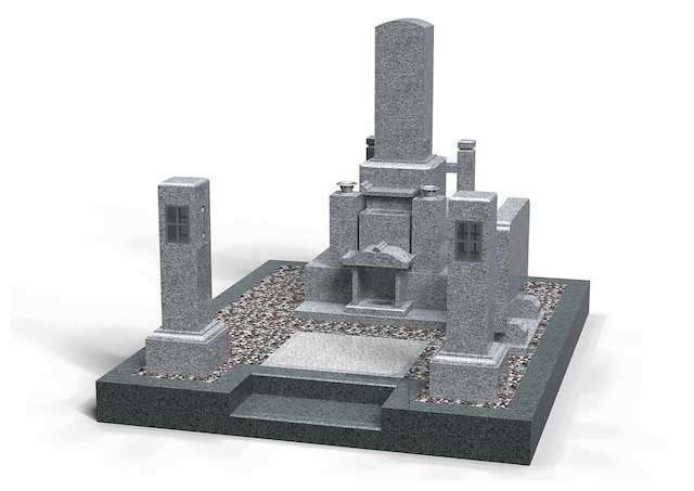米子市営南公園墓地01