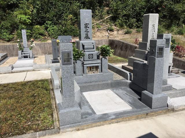 三朝町営山田墓地03
