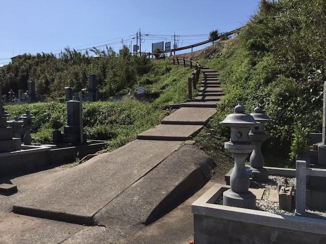 琴浦町花見潟墓地05