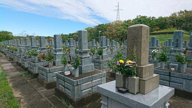 大田市営仁万墓地02