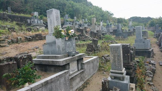 浜田市営唐鐘第二共同墓地05