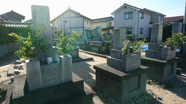 下府下の浜共同墓地ー霊園1