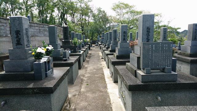 大田市営野浦浜墓地01