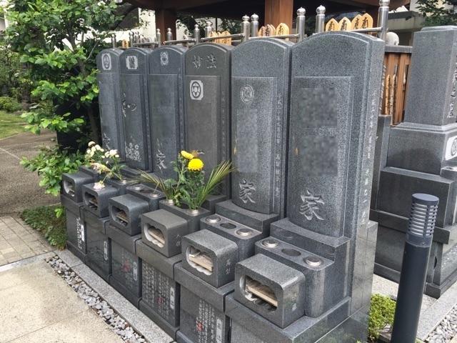 立正寺墓地01