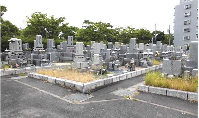 広島市温井墓地