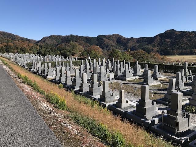 長浜市松の岩公園墓地_01