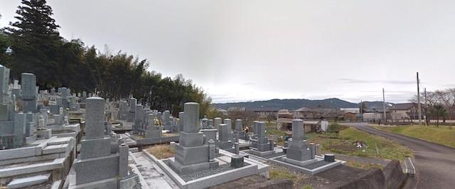 柿ケ沢墓地