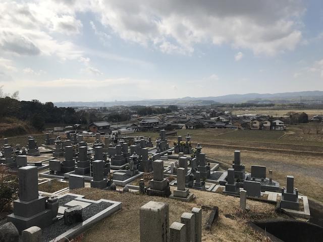 京都府綺田墓地
