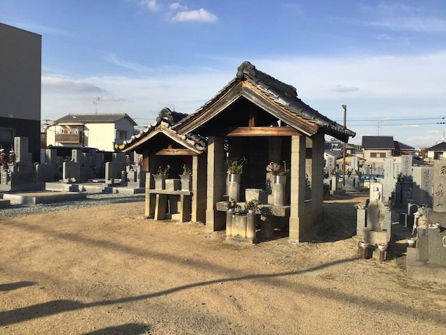 大阪府羽曳野市・西川同行墓地_02