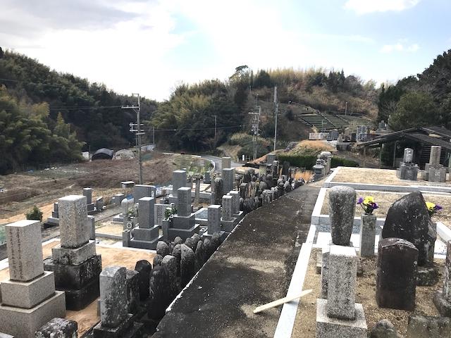 京都府神童子墓地