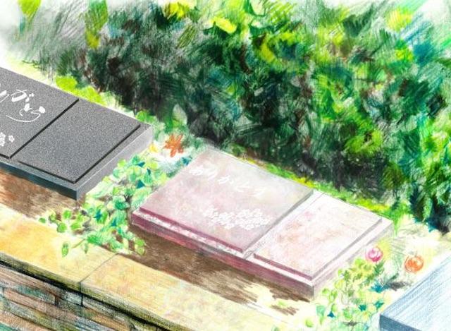 泰平寺霊園樹木葬・HEALING GARDEN_家族永代供養墓「心-こころ-」