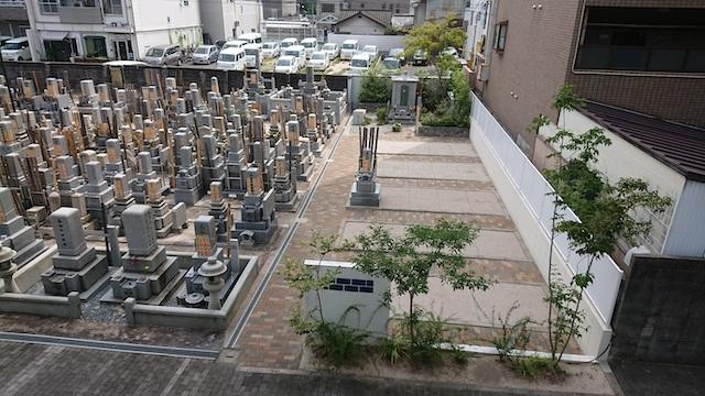 浄国寺−基本−墓所全体写真02