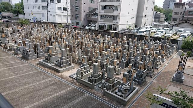 浄国寺−基本−墓所全体写真01