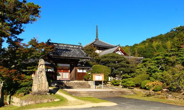 岡山県・円珠院墓地