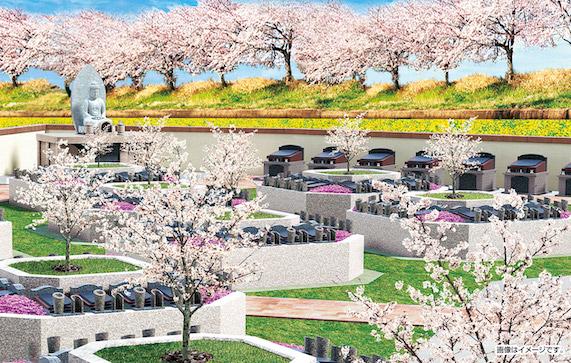 樹木葬・家族墓「桜樹の杜」(富山市)イメージ
